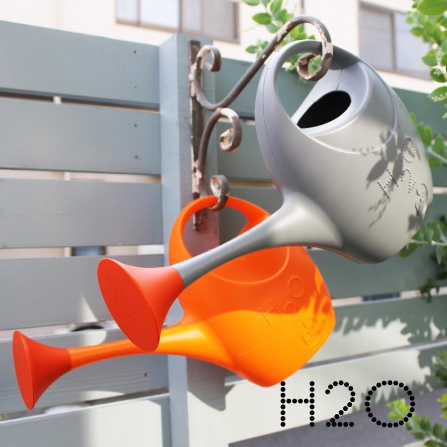 ジョウロ ジョーロ 水やり 観葉植物 手入れ 2.5 リットル L プラスティック 軽量 耐久性 100% イタリア製 H2O エイチツーオー おしゃれ かわいい POS DESIGN|basket2011|06