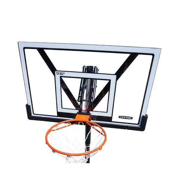 バスケットゴール ライフタイムLT-90585ポールパッド・ボールリターン付き|basketgoalcom|03