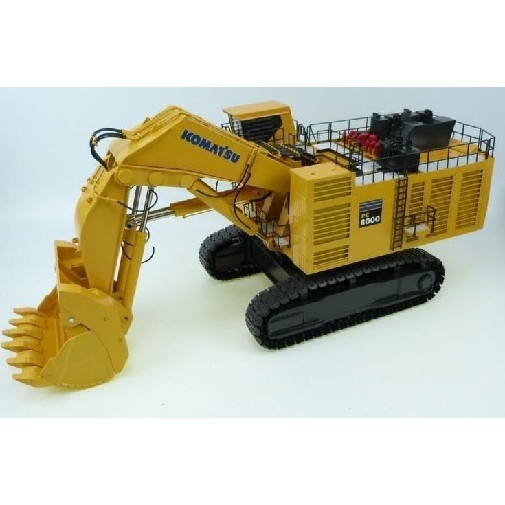 コマツ PC8000-6 Diesel マイニングショベル /BYMO 1/50 ダイキャスト 建設機械模型