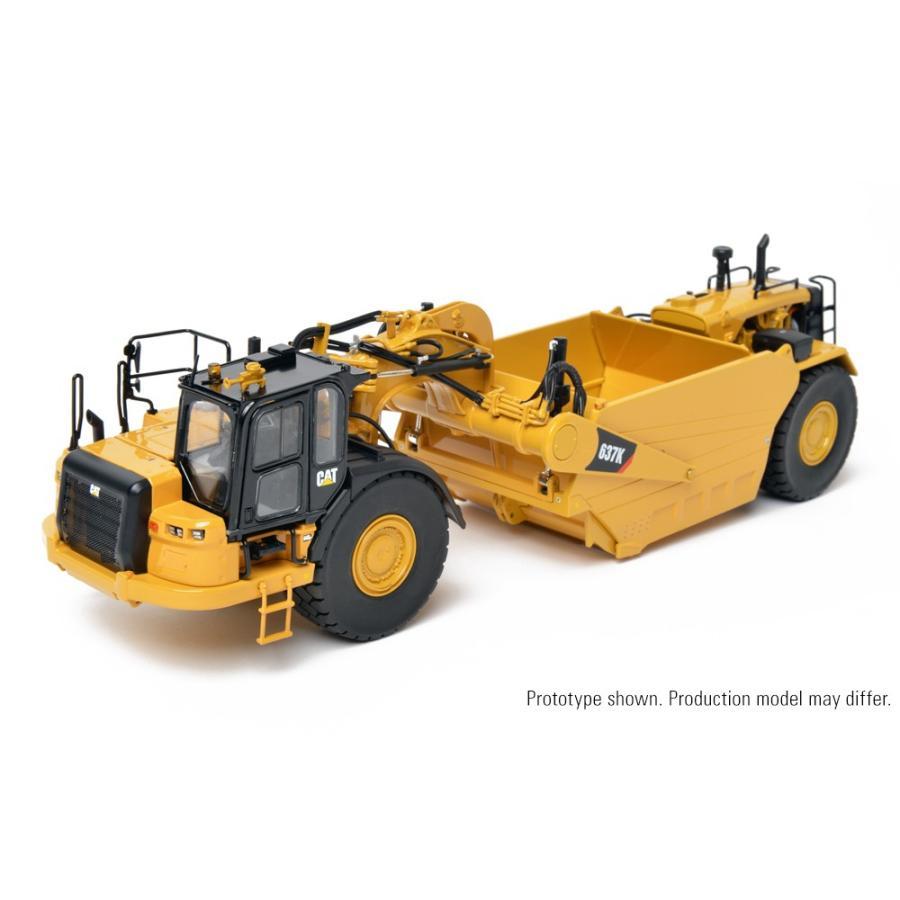予約2017年発売予定Cat 637K Coal Bowl Tractor-Scraper トラクター /CCM 建設機械模型 工事車両 1/48 ミニチュア