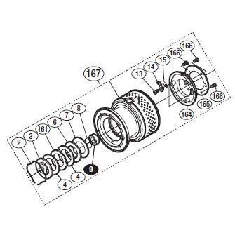 ●シマノ 10 ステラ C3000 (02432)用 純正標準スプール (パーツ品番105) 【キャンセル及び返品不可商品】 【まとめ送料割】