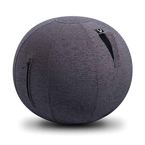 流行に  バランスボール イス 65cm 座るだけ ビボラ イス オフィス ビボラ シーティングボール ルーノ 座るだけ ジェニール(チャコールグレー), 最新のデザイン:461123bf --- airmodconsu.dominiotemporario.com