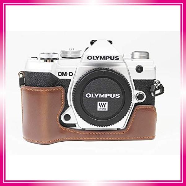 対応 Olympus オリンパス PEN OM-D E-M5 Mark III カメラ バッグ カメラ ケース 、Koowl手作りトップクラスのPUレザーカメ bay-center