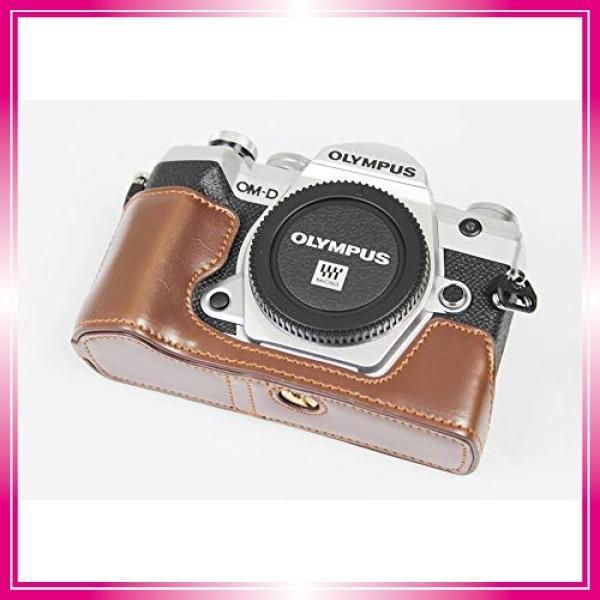 対応 Olympus オリンパス PEN OM-D E-M5 Mark III カメラ バッグ カメラ ケース 、Koowl手作りトップクラスのPUレザーカメ bay-center 02