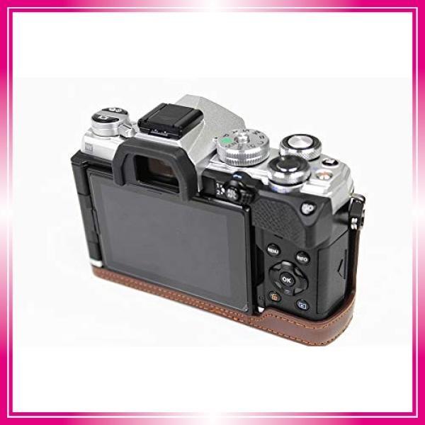 対応 Olympus オリンパス PEN OM-D E-M5 Mark III カメラ バッグ カメラ ケース 、Koowl手作りトップクラスのPUレザーカメ bay-center 04