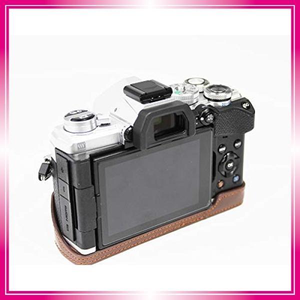 対応 Olympus オリンパス PEN OM-D E-M5 Mark III カメラ バッグ カメラ ケース 、Koowl手作りトップクラスのPUレザーカメ bay-center 05