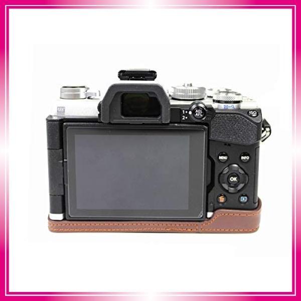 対応 Olympus オリンパス PEN OM-D E-M5 Mark III カメラ バッグ カメラ ケース 、Koowl手作りトップクラスのPUレザーカメ bay-center 06