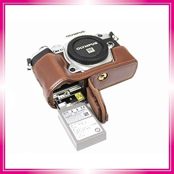 対応 Olympus オリンパス PEN OM-D E-M5 Mark III カメラ バッグ カメラ ケース 、Koowl手作りトップクラスのPUレザーカメ bay-center 07