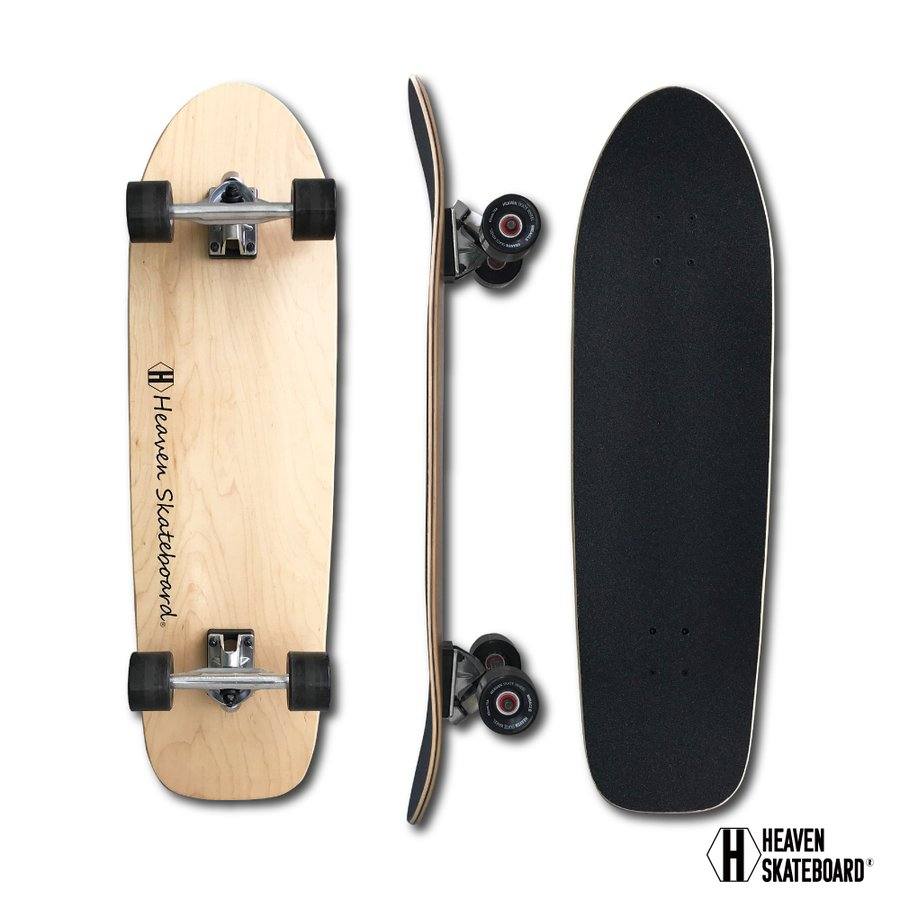 HEAVEN ロングスケートボード 35×10 スワミス35 SWAMIS ヘブン ABEC7 スケボー スケート ロンスケ sk8 SKATEBOARD