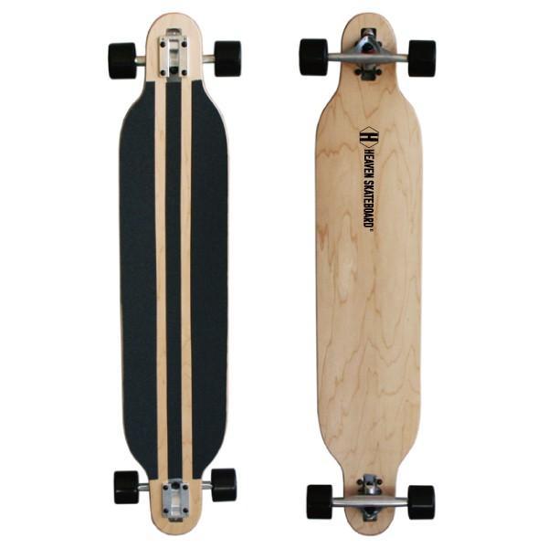 ロングスケートボード HEAVEN DROP SURF 41.5インチ ヘブン ロンスケ ナチュラル オフトレに最適 訳あり 数量限定 特別価格