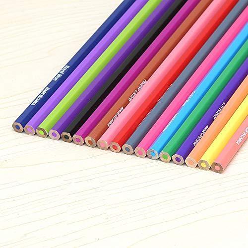 色鉛筆 72色 セット 収納 ケース付き 塗り絵 お絵描き 画材 卒園 入園 入学 プレゼントに|bayspring|02