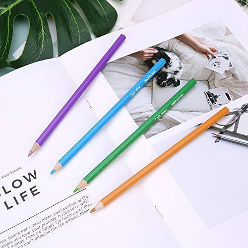 色鉛筆 72色 セット 収納 ケース付き 塗り絵 お絵描き 画材 卒園 入園 入学 プレゼントに|bayspring|03
