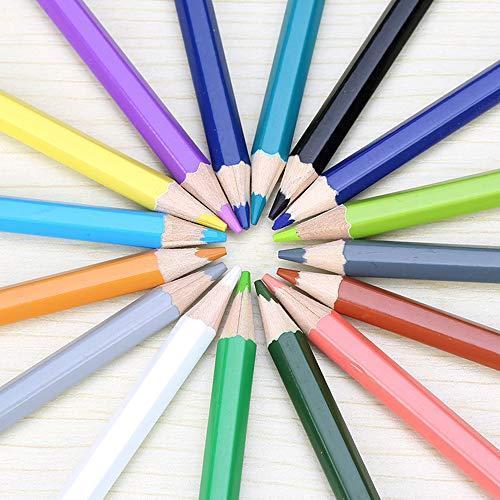 色鉛筆 72色 セット 収納 ケース付き 塗り絵 お絵描き 画材 卒園 入園 入学 プレゼントに|bayspring|05