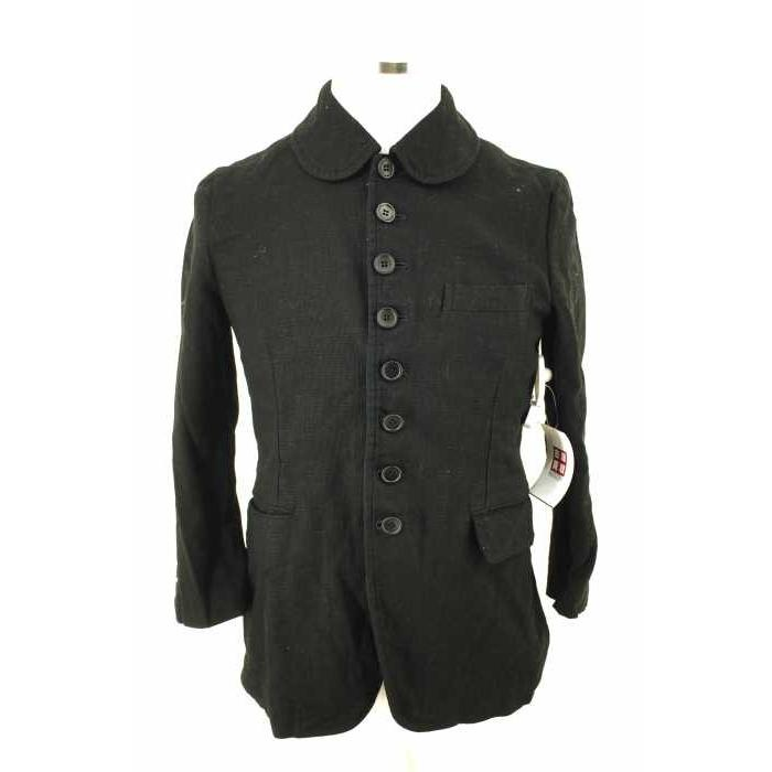 価格は安く ブラックコムデギャルソン BLACK COMME des GARCONS テーラードジャケット レディース サイズS AD2016 丸襟ジャケット 中, かわいい文房具のドイブングテン 9f727a50