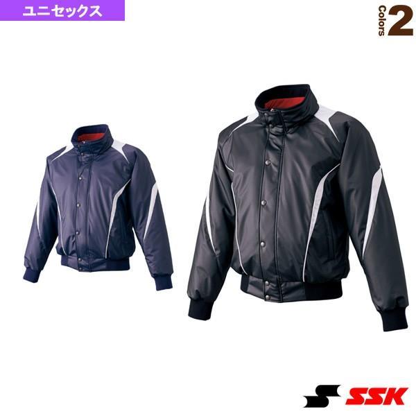 エスエスケイ 野球ウェア(メンズ/ユニ) 蓄熱グラウンドコート/フロントフルZIP+ボタン比翼付き/中綿(BWG1007)
