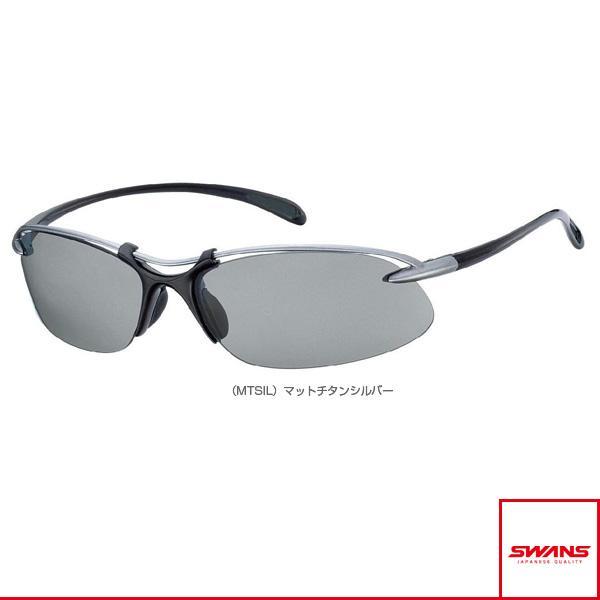 スワンズ オールスポーツアクセサリ・小物 Airless-Wave(エアレスウェーブ)偏光レンズモデル/マットチタンシルバー/偏光スモーク(SA-501 MTSIL)