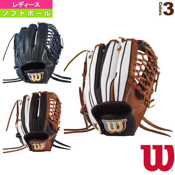 ウィルソン ソフトボールグローブ Wilson Queen DUAL/女子ソフトボール用グラブ/オールラウンド用(WTASQSSUF)