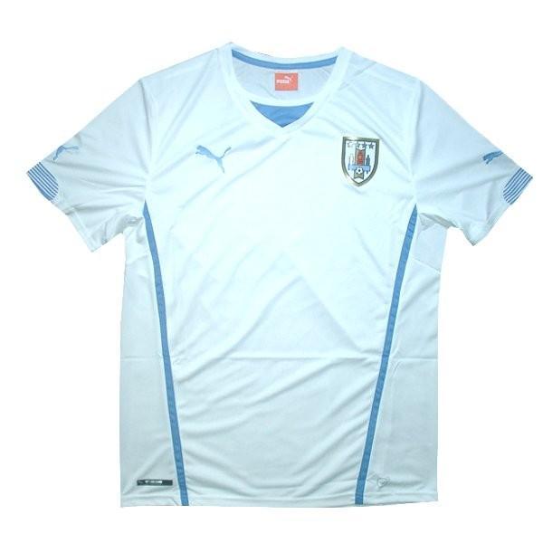 ウルグアイ代表 14 アウェイ 半袖 ユニフォーム PUMA FIFAワールドカップ2014(正規品/メール便可/メーカーコード744324 02)|bbfb