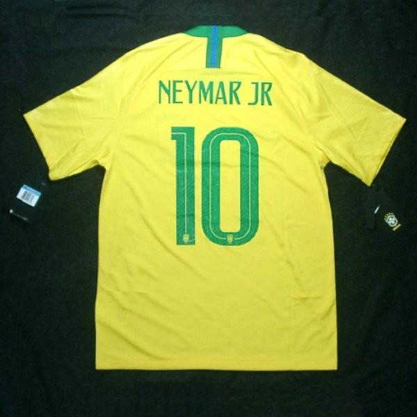 ブラジル代表 18 ホーム 半袖 ネイマール10/オフィシャルマーキングユニフォーム NIKE FIFAワールドカップ2018(正規品/メール便可/893856 749)