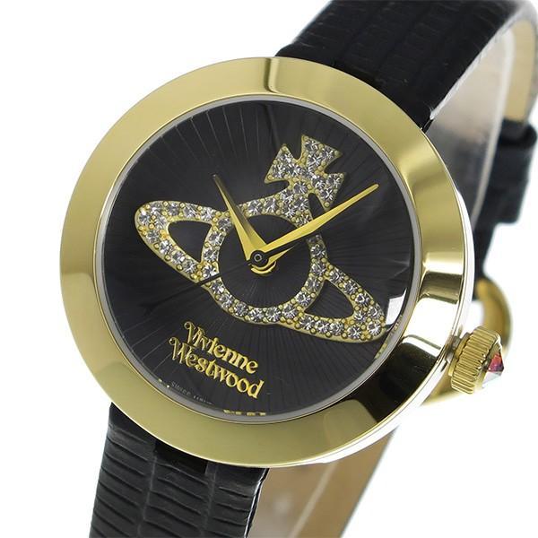 贅沢屋の ヴィヴィアン ウエストウッド クオーツ レディース 腕時計 VV150GDBK ブラック, 人気絶頂 4592ce82