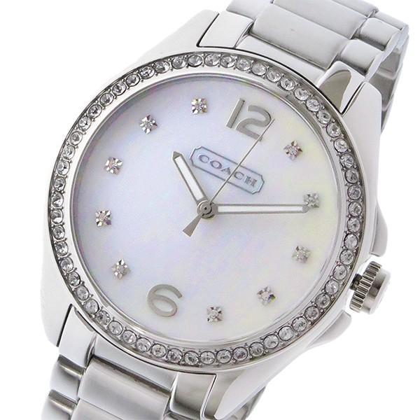 【セール】 コーチ COACH トリステン TRISTEN クオーツ レディース 腕時計 14501660 ホワイトシェル, クロスキャンパー e5465263