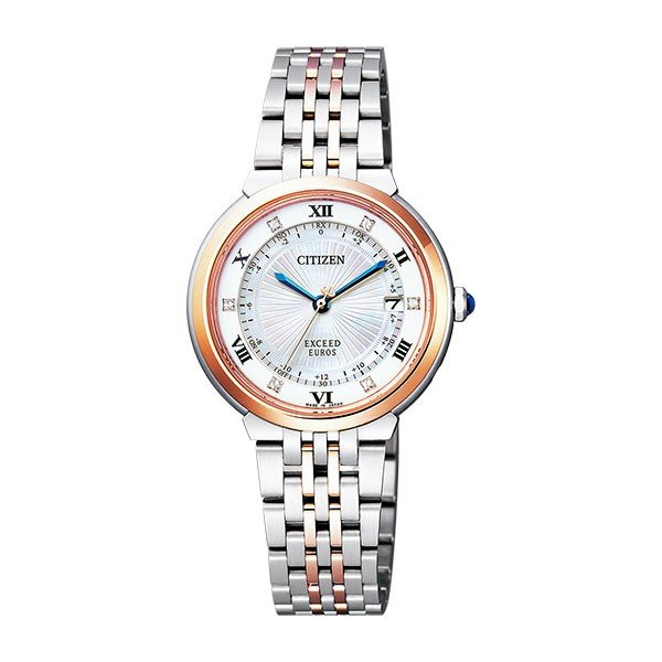 【高額売筋】 シチズン CITIZEN ES1055-55W エクシード レディース 腕時計 腕時計 レディース ES1055-55W 国内正規, 東北ハッピー農園:ef4e1fbb --- airmodconsu.dominiotemporario.com