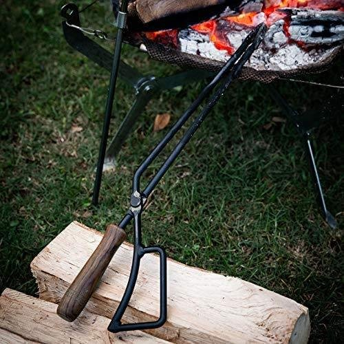 TEOGONIA/テオゴニア Fireplace Tongs/ファイヤープレーストング【63495】バーベキュー 炭ばさみ 薪ばさみ bbmarket 05