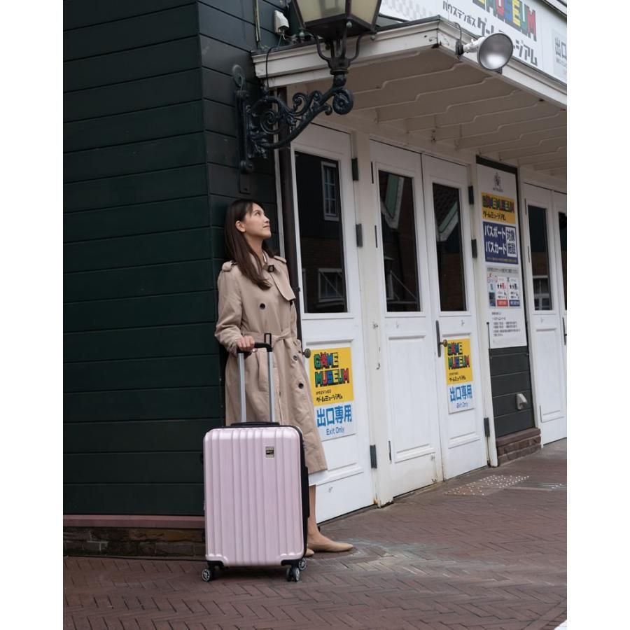 スーツケース Mサイズ 中型 軽量 キャリーバッグ ハードケース ファスナー 旅行用品 bbmonsters 11