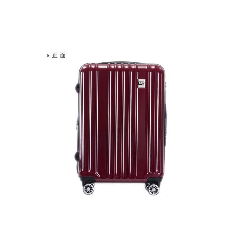 スーツケース Mサイズ 中型 軽量 キャリーバッグ ハードケース ファスナー 旅行用品 bbmonsters 16