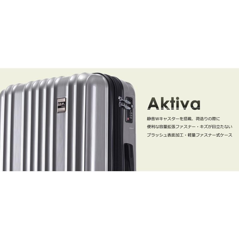 スーツケース Mサイズ 中型 軽量 キャリーバッグ ハードケース ファスナー 旅行用品 bbmonsters 04