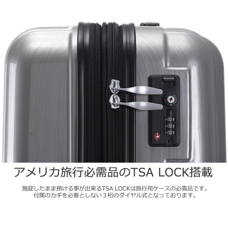 スーツケース Mサイズ 中型 軽量 キャリーバッグ ハードケース ファスナー 旅行用品 bbmonsters 07