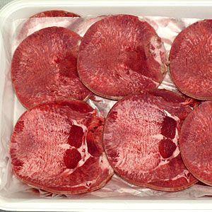 牛タン 焼き肉 1kg(500g×2) 冷凍 (普通の厚さ限定) (BBQ バーべキュー)焼肉 bbq 02
