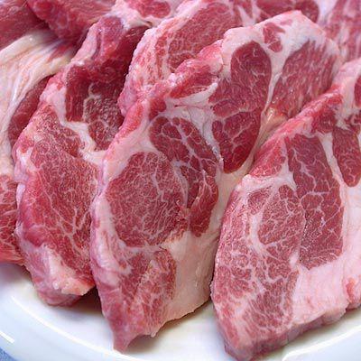 焼き肉 ジンギスカン 生ラム 肩ロース 500g 冷蔵チルド・真空パック 自家製タレ付属 (BBQ バーべキュー)焼肉|bbq