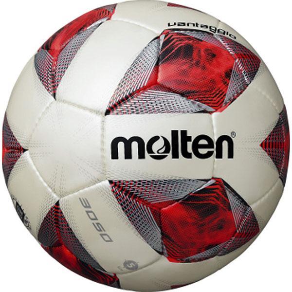 molten サッカーボール ヴァンタッジオ3050軽量 5号 贈り物 F5A3050-LR シャンパンシルバー×レッド 正規取扱店 検定球