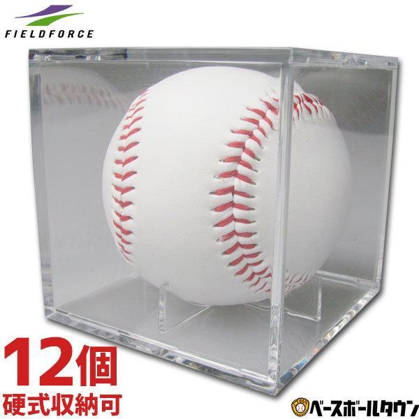 サインボールケース 1ダース 12個 売り 高い素材 ボール別売り FSC-8080 クリアケース フィールドフォース 激安通販専門店 あすつく