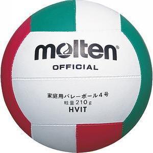 モルテン 数量は多 推奨 バレーボール 家庭用バレー軽量4号球 HVIT