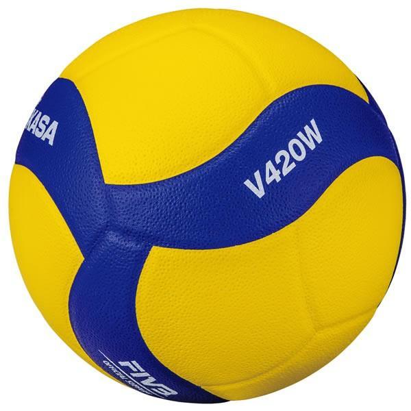 ミカサ 新作からSALEアイテム等お得な商品満載 バレーボール 通信販売 練習球4号 V420W