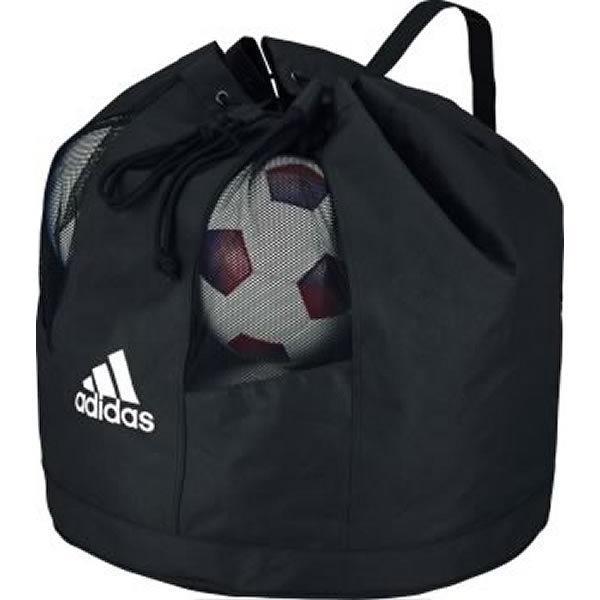 アディダス サッカー ボールバッグ10個入れ ボールケース お得なキャンペーンを実施中 AKN11BK 定番キャンバス