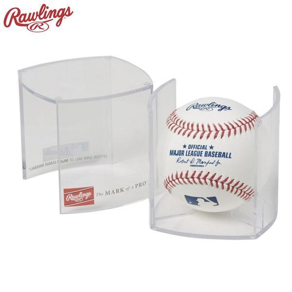 2020新作 ローリングス ボールディスプレイケース 情熱セール サインボールケース 野球 RBOF7