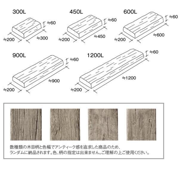 レイルスリーパーペイブ900L 東洋工業 コンクリート製枕木 静岡県西部限定 15%OFF|bcgarden|02