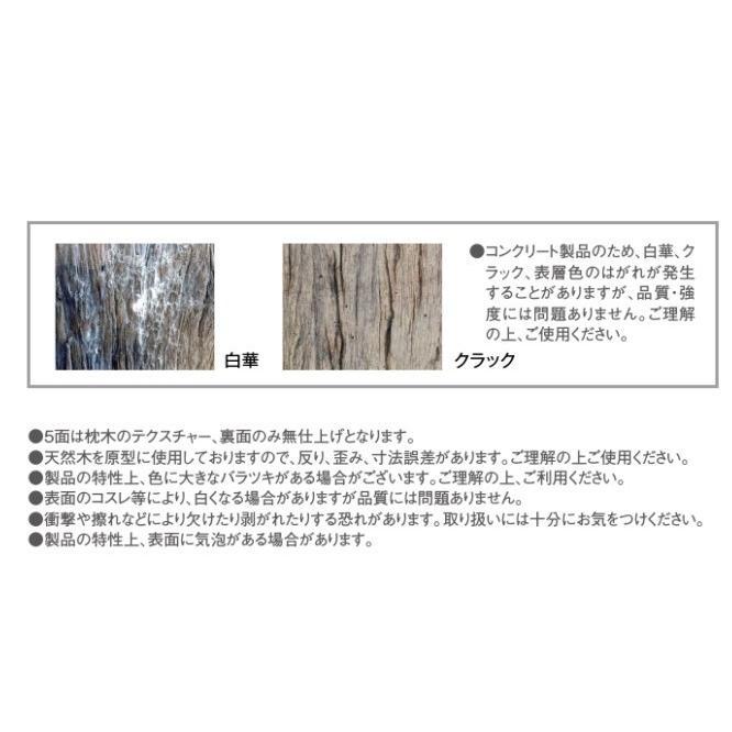 レイルスリーパーペイブ600L 東洋工業 コンクリート製枕木 静岡県西部限定 15%OFF|bcgarden|04