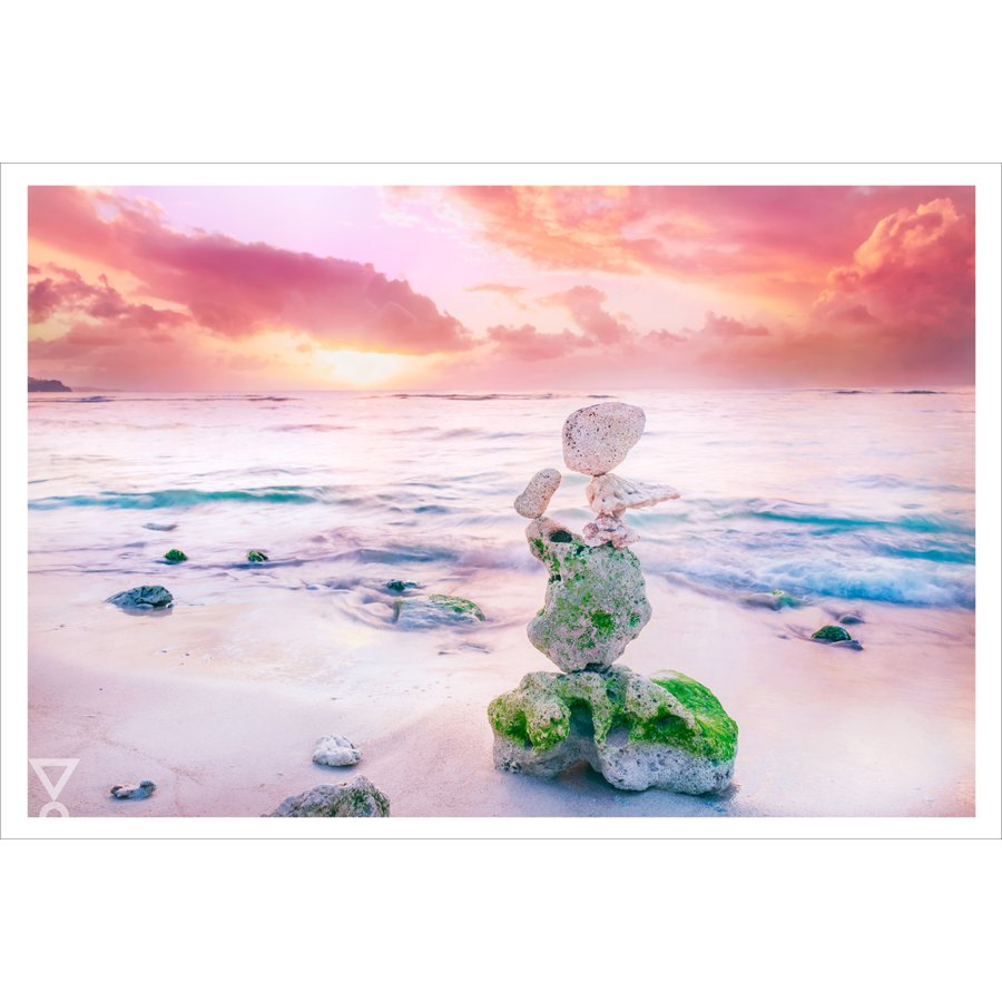 ポストカード 風景 Hiroshi 天使の浜辺 即納 正規品 Yoshida