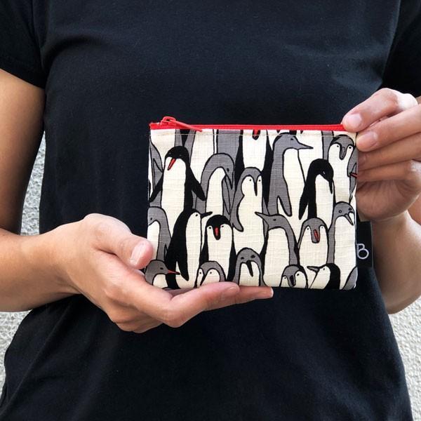 ポケットティッシュ カバー ポーチ ケース 子供 ギフト プレゼント  おしゃれ 可愛い 日本製 (ティッシュポーチ ペンギン柄)|bcolors|02