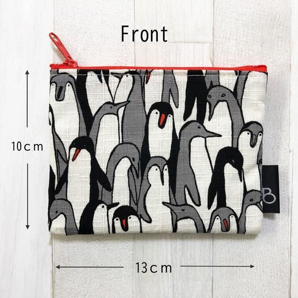 ポケットティッシュ カバー ポーチ ケース 子供 ギフト プレゼント  おしゃれ 可愛い 日本製 (ティッシュポーチ ペンギン柄)|bcolors|03