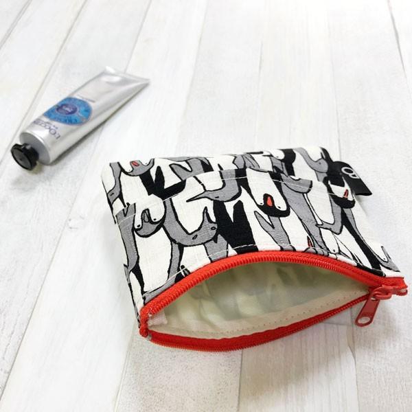 ポケットティッシュ カバー ポーチ ケース 子供 ギフト プレゼント  おしゃれ 可愛い 日本製 (ティッシュポーチ ペンギン柄)|bcolors|06
