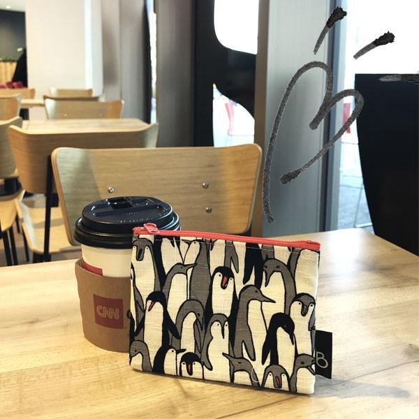ポケットティッシュ カバー ポーチ ケース 子供 ギフト プレゼント  おしゃれ 可愛い 日本製 (ティッシュポーチ ペンギン柄)|bcolors|09