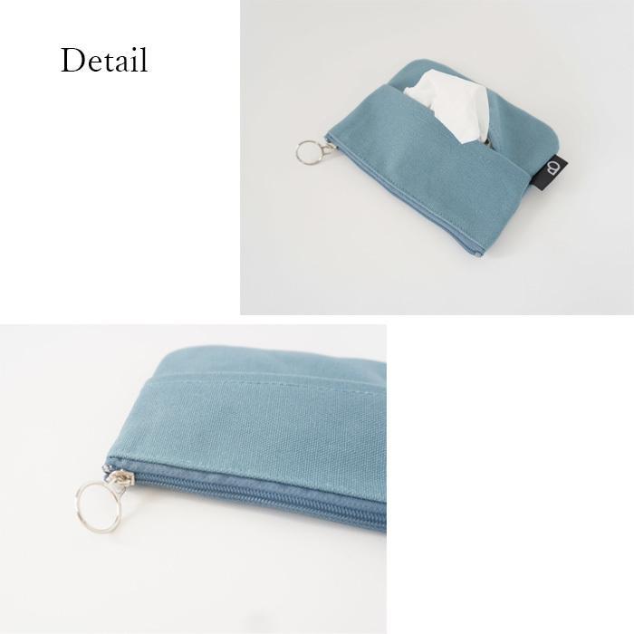 ポケットティッシュケース ティッシュカバー ポーチ 小さめ 小物入れ プレゼント シンプル カラー bcolors 05