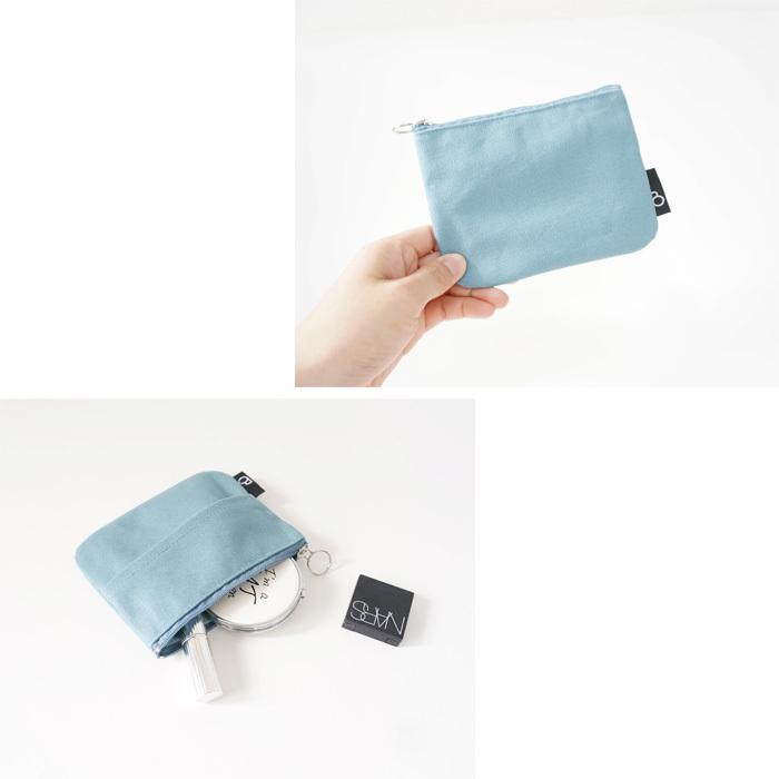 ポケットティッシュケース ティッシュカバー ポーチ 小さめ 小物入れ プレゼント シンプル カラー bcolors 06