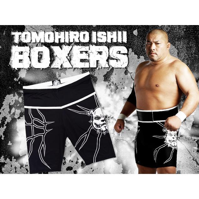 メール便対応: 新日本プロレス NJPW 石井智宏 ロングボクサーパンツ ...