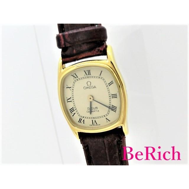 世界的に有名な オメガ 腕時計 デヴィル Cal1387 591.0134 レディース 腕時計【】 クォーツ SS/レザー SS/レザー アイボリー文字盤 OMEGA【】 sb242, フラワーアトリエ 仁:3cf60b32 --- airmodconsu.dominiotemporario.com
